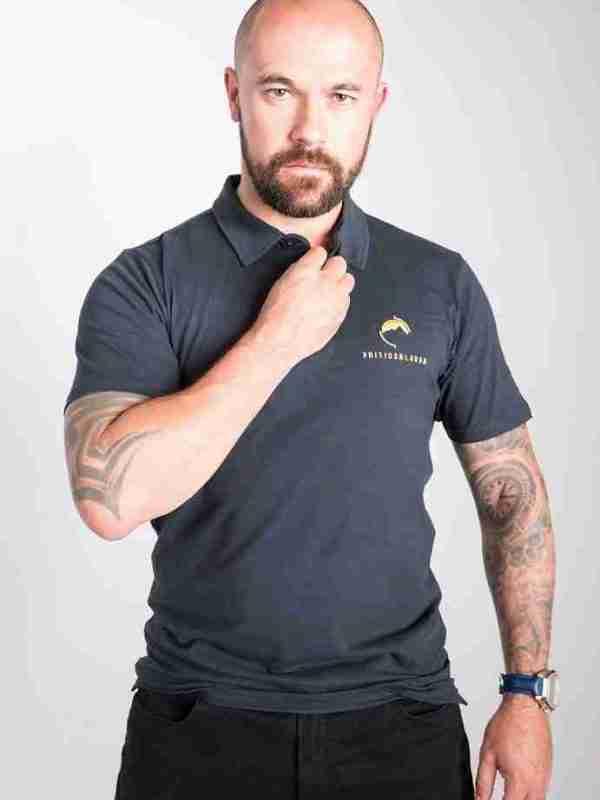 Fritidsklader navy blue t-shirt