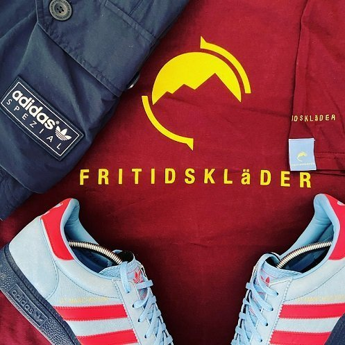 New Football Terrace Fashion Brand Fritidsklader