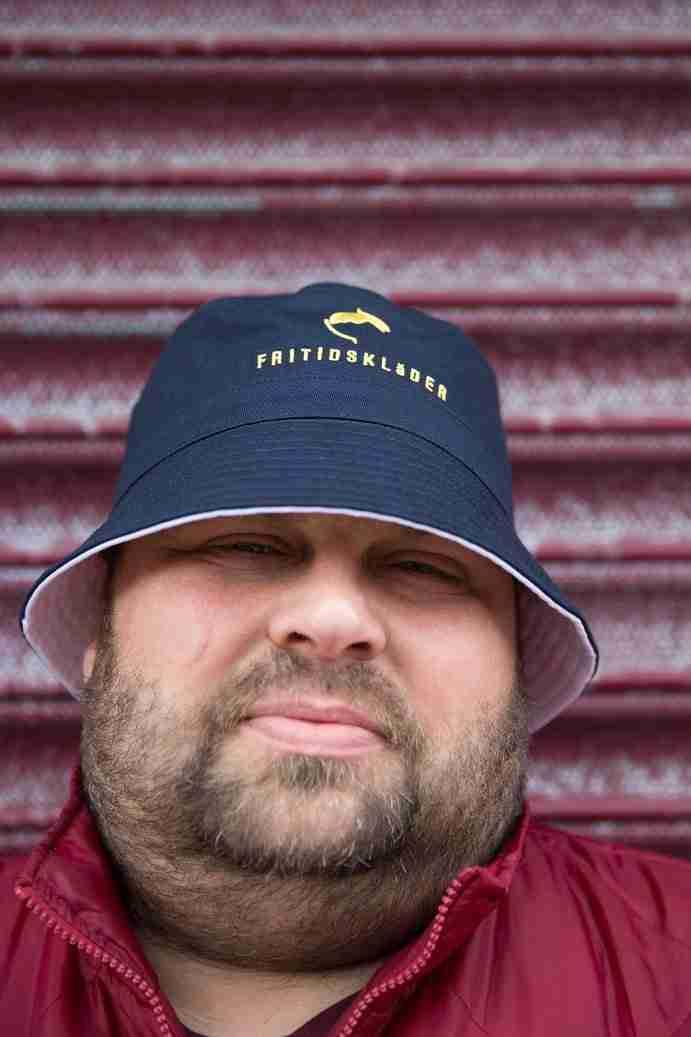 Navy Blue Bucket Hat Fritidsklader