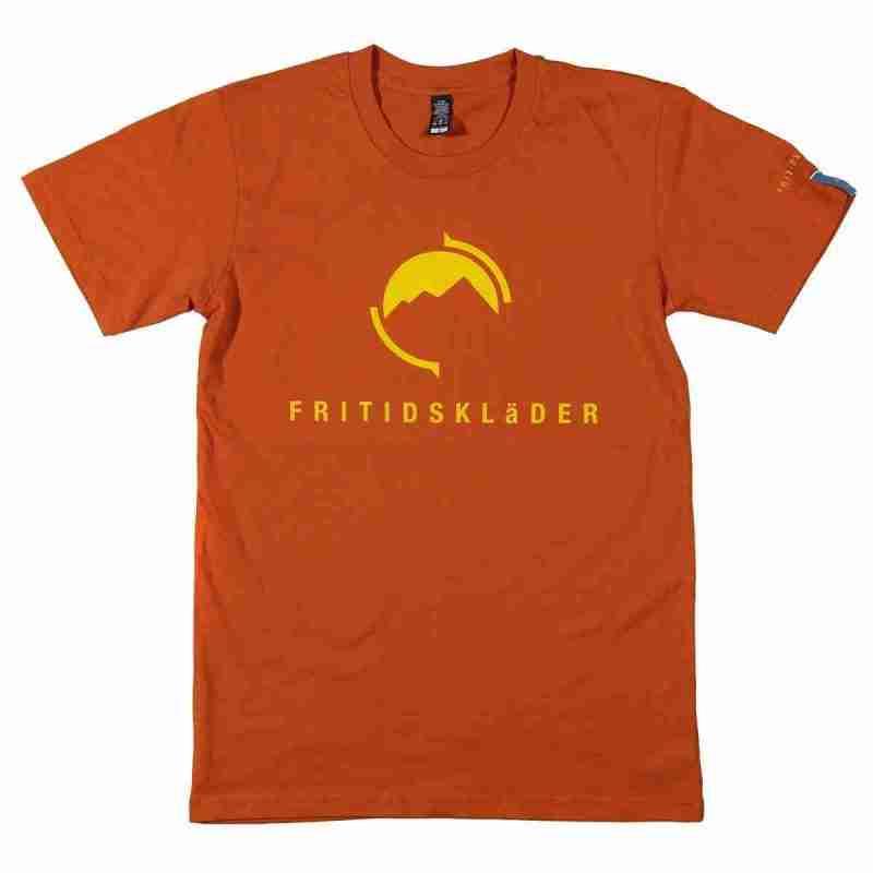 Orange T shirt Fritidsklader