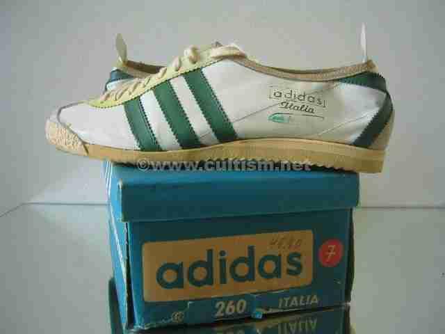 Adidas Italia retro classic trainer