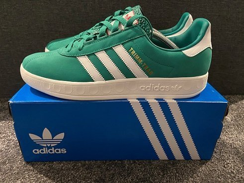 Fritidsklader must have football casual trainers Trimm Trabs