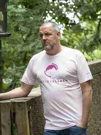 Pale Pink T Shirt by Fritidsklader