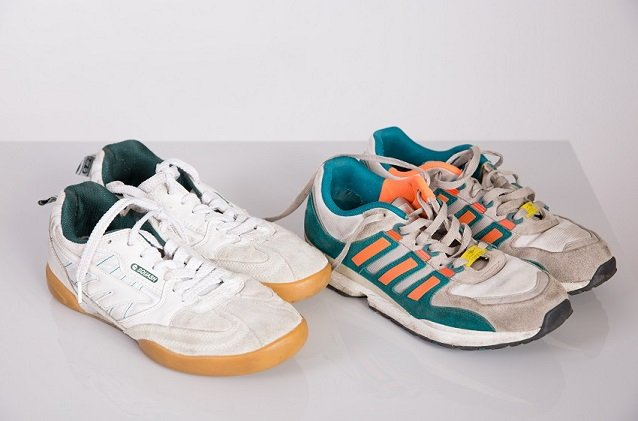 Hi Tec Squash and Adidas Torsion
