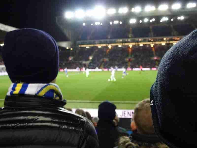 Leeds Away in Newcastle