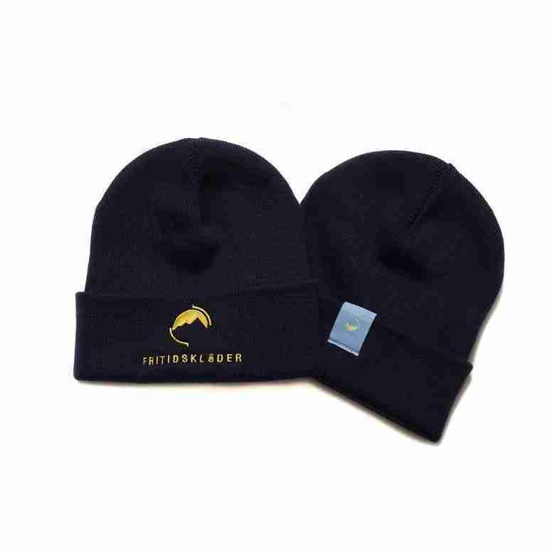 Fritidsklader Navy Blue Beanie Hat