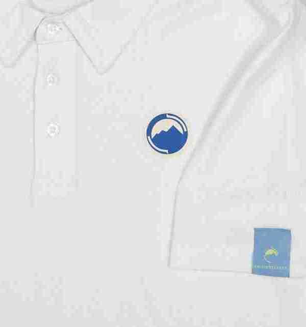 Fritidsklader Polo shirt white