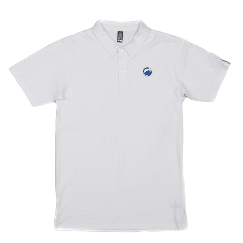 Fritidsklader Polo Shirt white pit to pit measurements