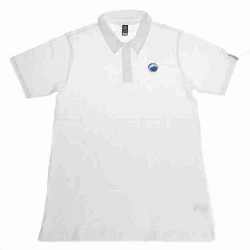 Fritidsklader women's polo shirt white