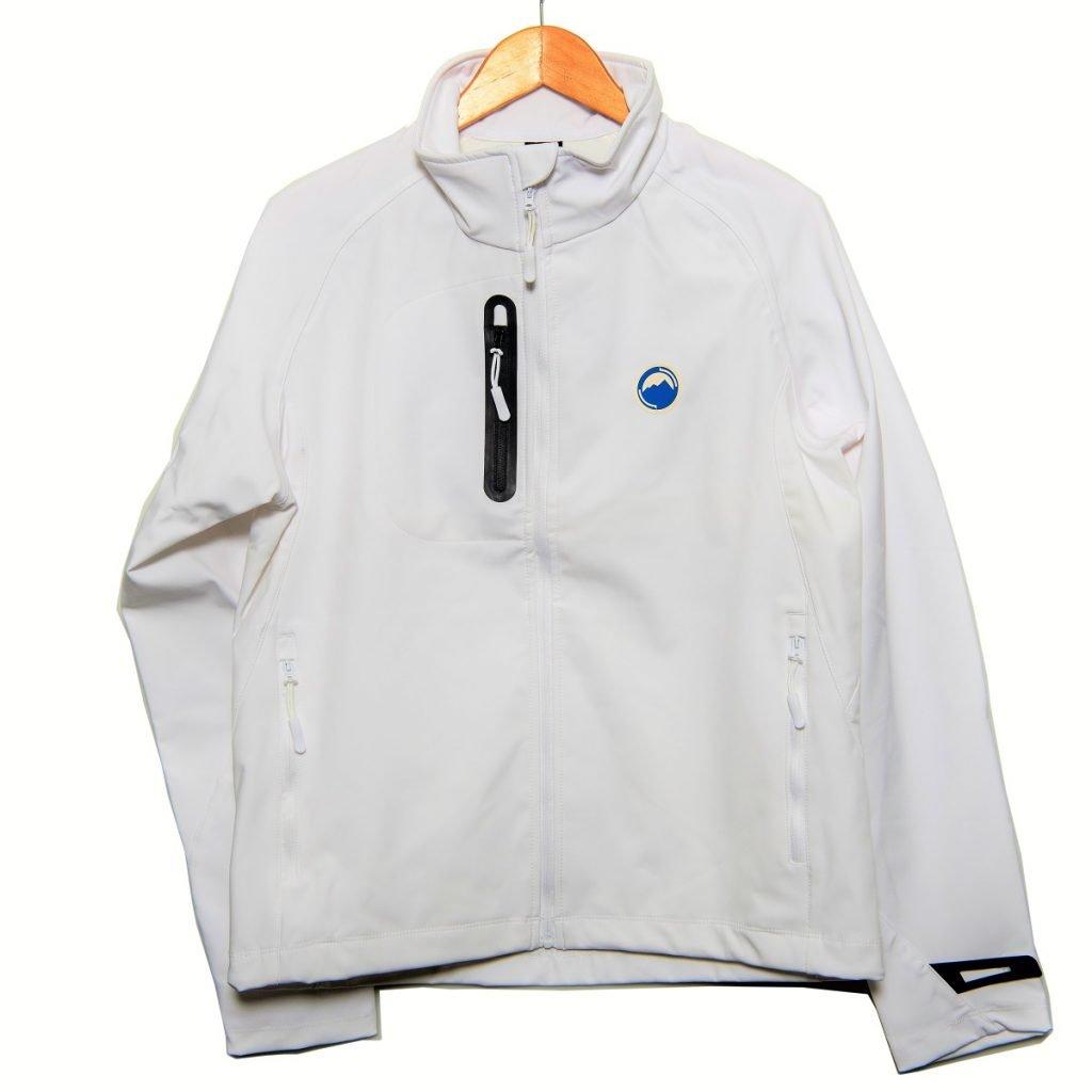 White Softshell Jacket