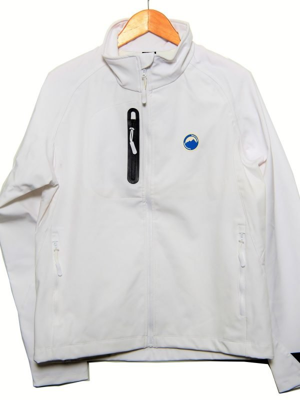 White Softshell Jacket