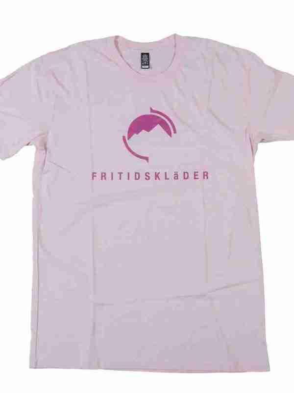 Pale Pink T shirt Fritidsklader